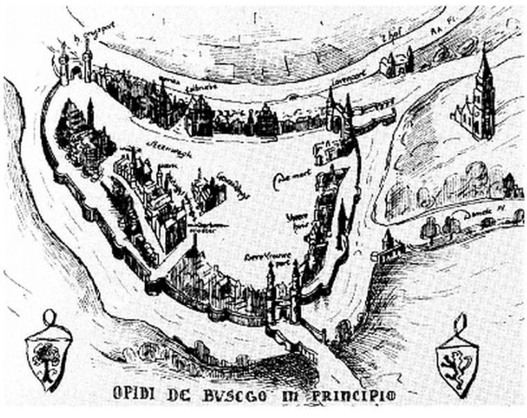 A 's-Hertogenbosch begin 13e eeuw