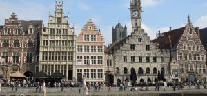 De Graslei en het tolhuus, Tollinssteen van Gent