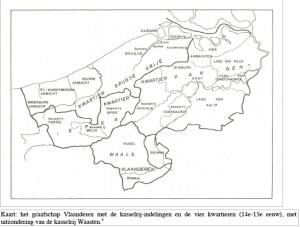 graafschap Vlaanderen met de vier kwartieren