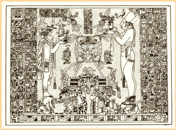Illuminatie- Uit- De Zonnetempel van de Maya's
