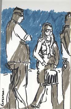 Washington The Arts Head-on 03 [felt pen]