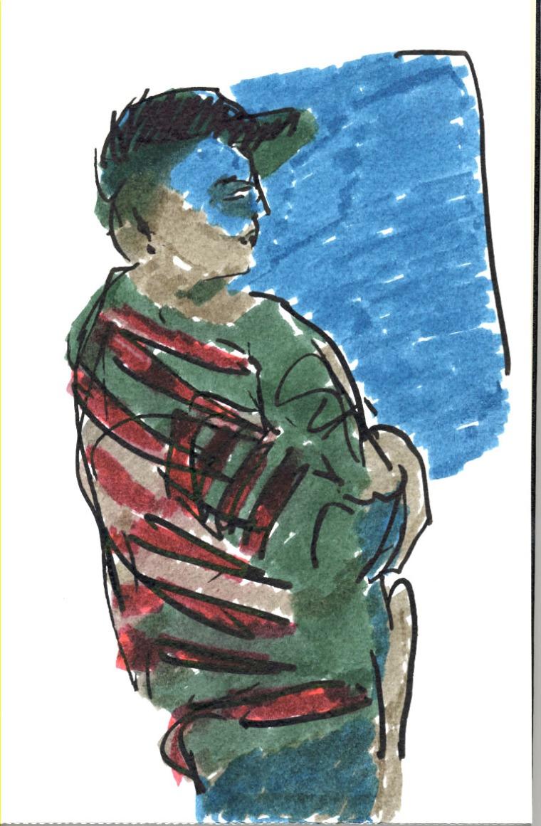 Washington The Arts Head-on 06 [felt pen]