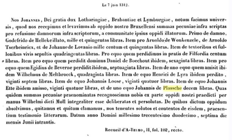 Jan van den Plassche 1312